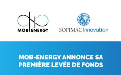 Mob-Energy annonce sa première levée de fond